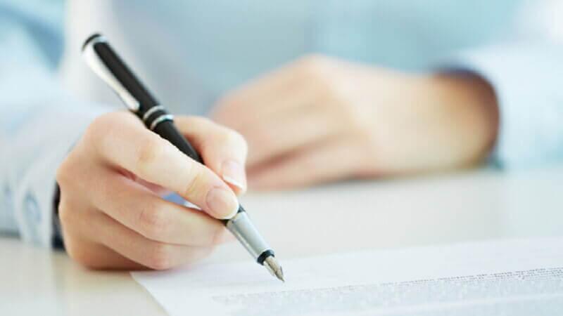Базовые принципы написания заявления-анкеты