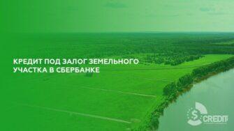 Кредит под залог земельного участка в Сбербанке