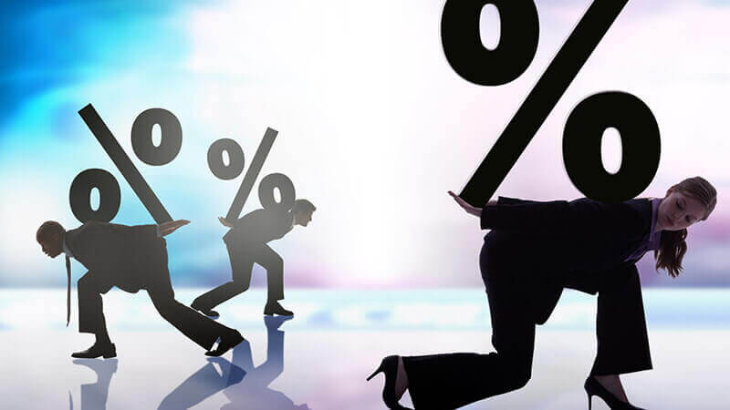 Процентные ставки по кредитным картам